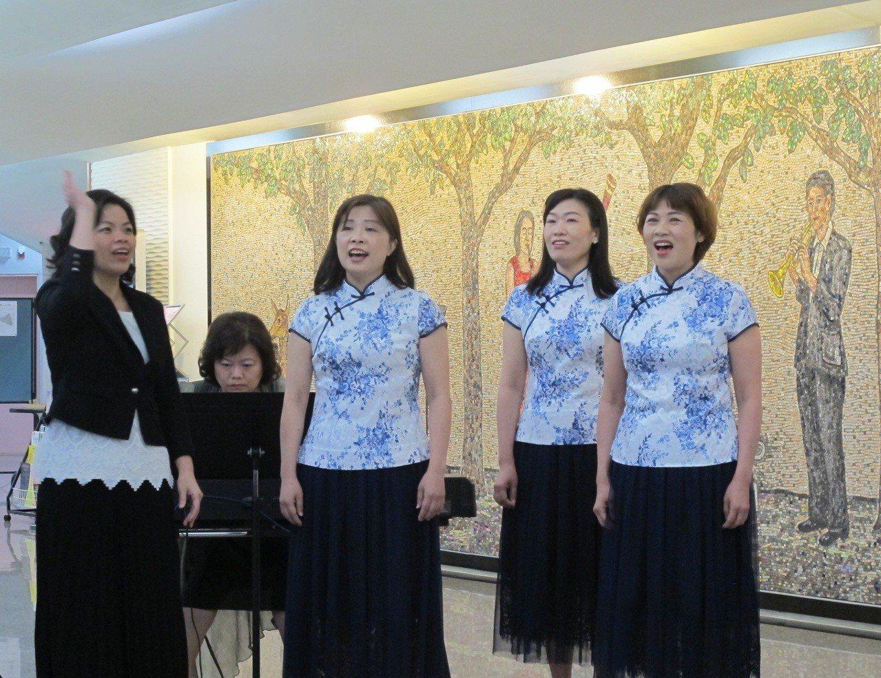 桃園合唱藝術節今年阿卡貝拉、合唱大賽競爭激烈。圖/桃園市文化局提供