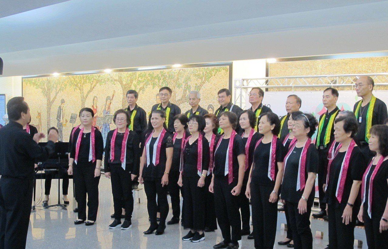 合唱大賽是桃園合唱藝術節重要比賽。圖/桃園市文化局提供