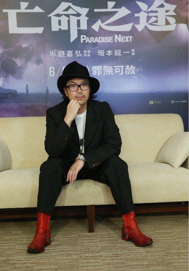 「亡命之途」導演半野喜弘。記者林俊良/攝影