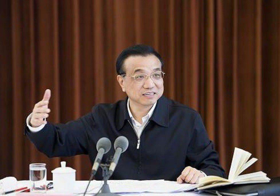 大陸國務院總理李克強。擷取自/中國政府網