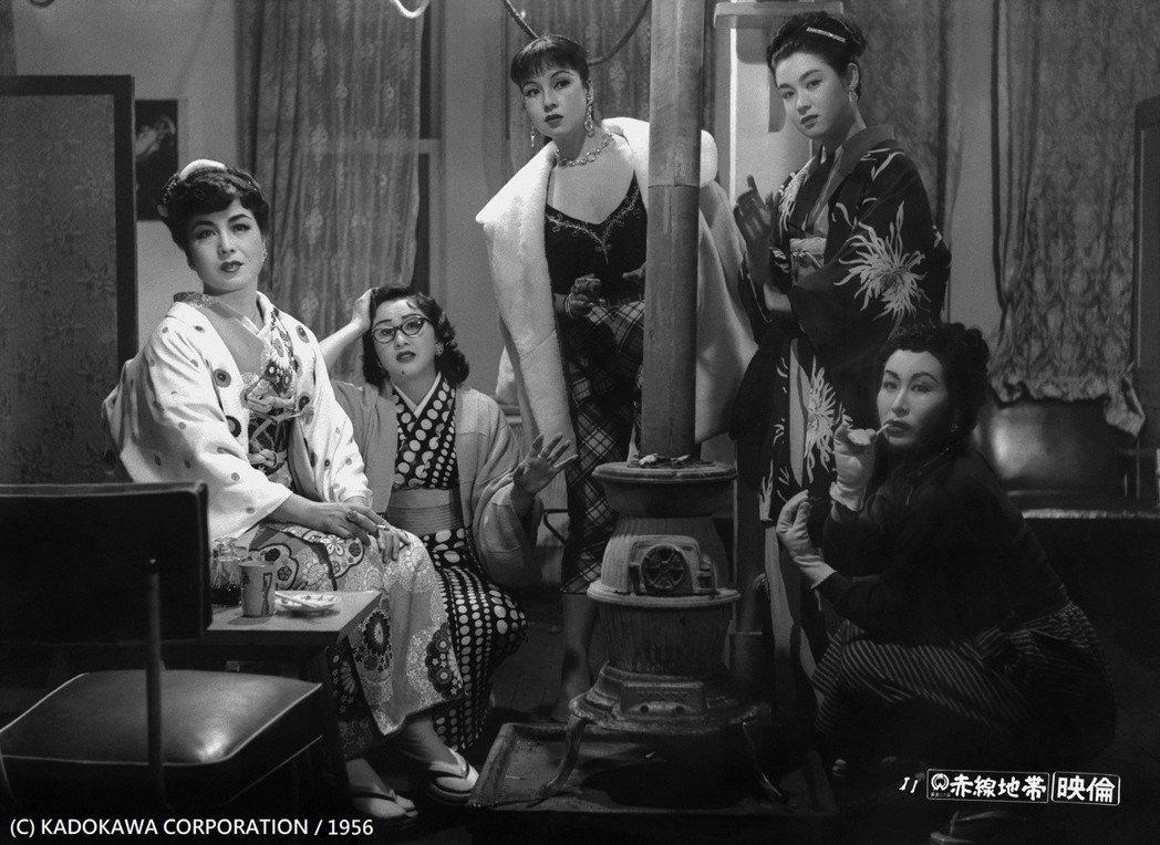 日本巨匠溝口健二生前最後遺作「赤線地帶」。圖/台北電影節提供