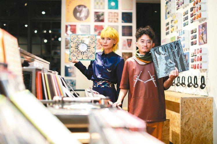 知名樂團Tizzy Bac從音樂人的角度解讀愛馬仕的創意巧思。 圖/愛馬仕提供