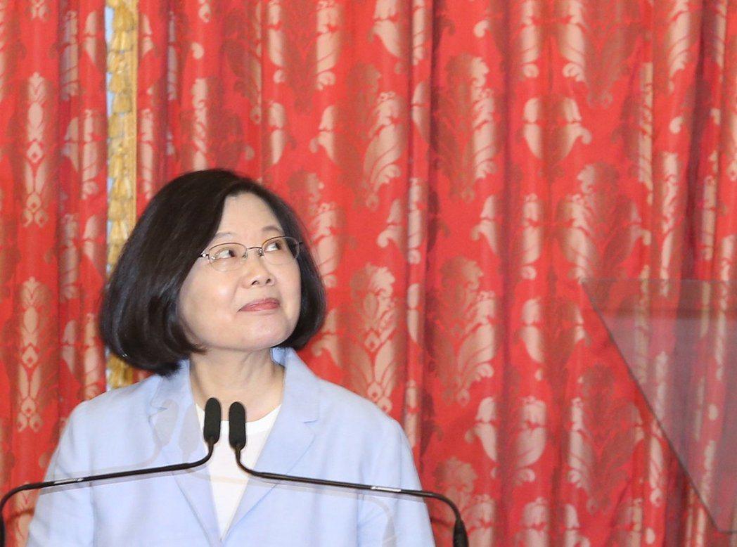 總統蔡英文曾被諷「神隱少女」。 圖/聯合報系資料照片