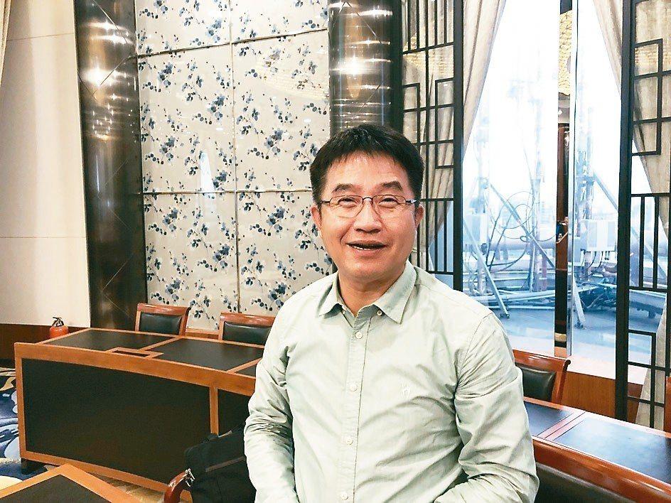 台虹總經理顏志明 記者尹慧中攝影
