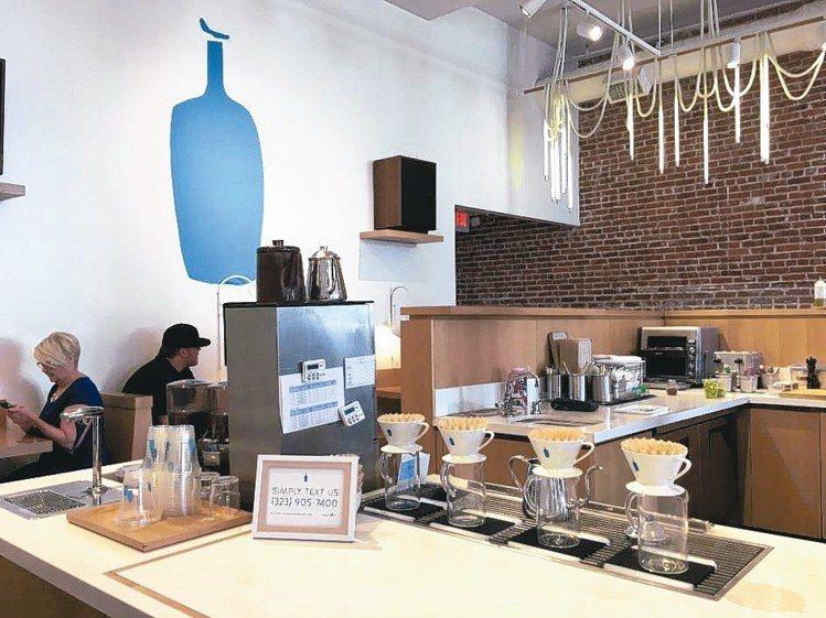 藍瓶咖啡進駐首爾聖水洞。