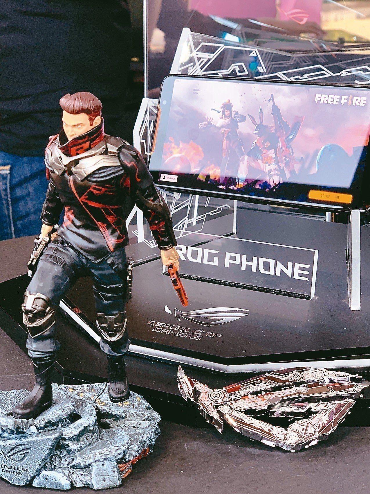 華碩ROG Phone。 記者馬瑞璿/攝影