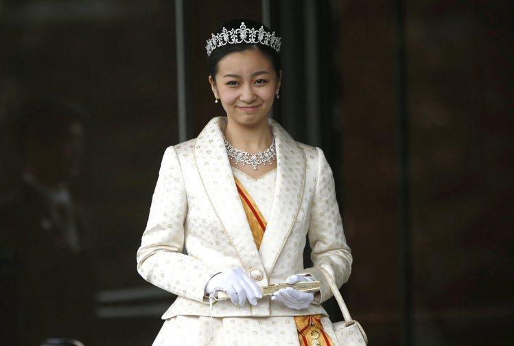 佳子公主。圖/路透