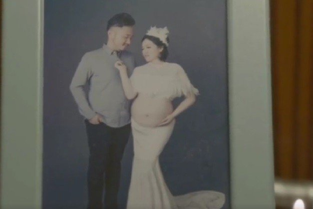 劉亞娟因肥胖遭先生拋棄。圖取自微博