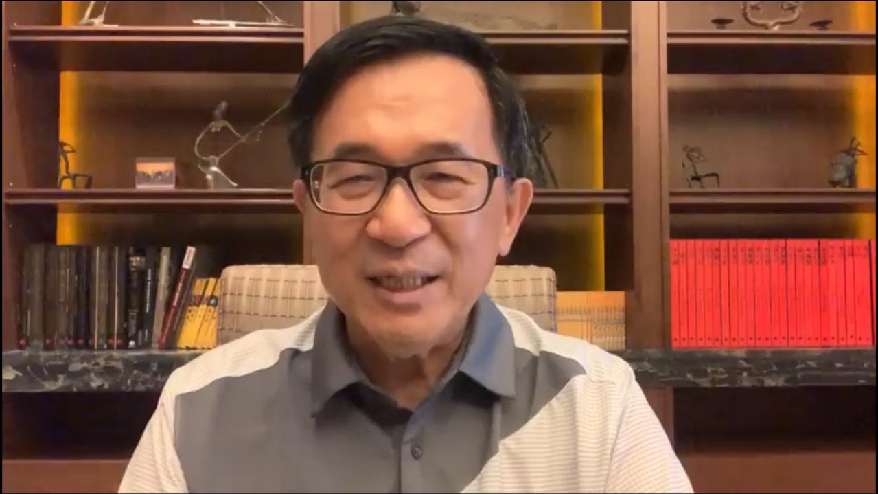 前總統陳水扁今(1)日在臉書說他當台北市長時也很少出席行政院會,市政也沒有因此受...