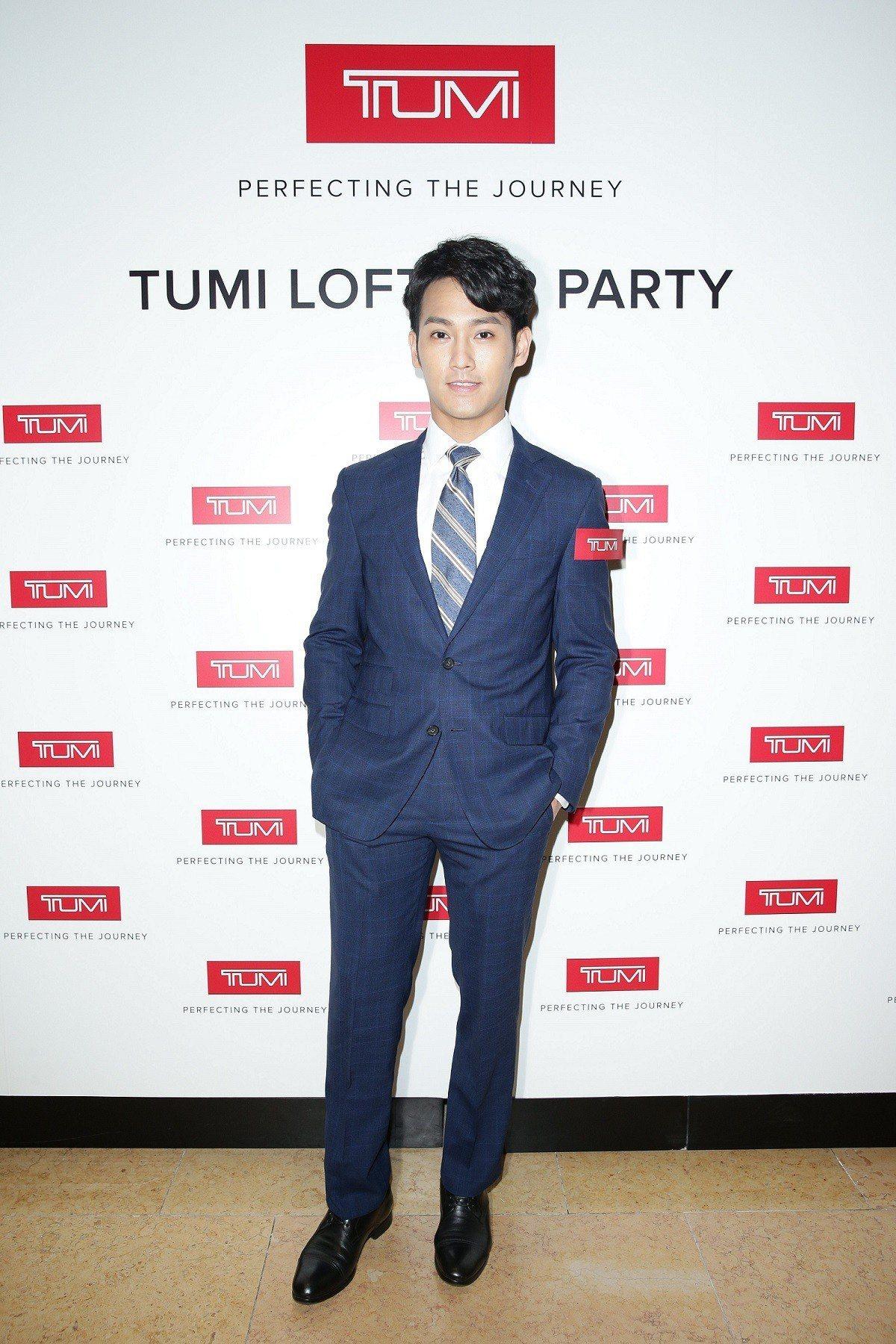 趙雅芝帥兒王愷傑也出席了於太古廣場的TUMI Loft派對。圖/TUMI提供