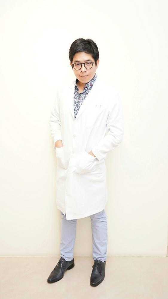 台南市立醫院身心科醫師粟寧。圖/台南市立醫院提供