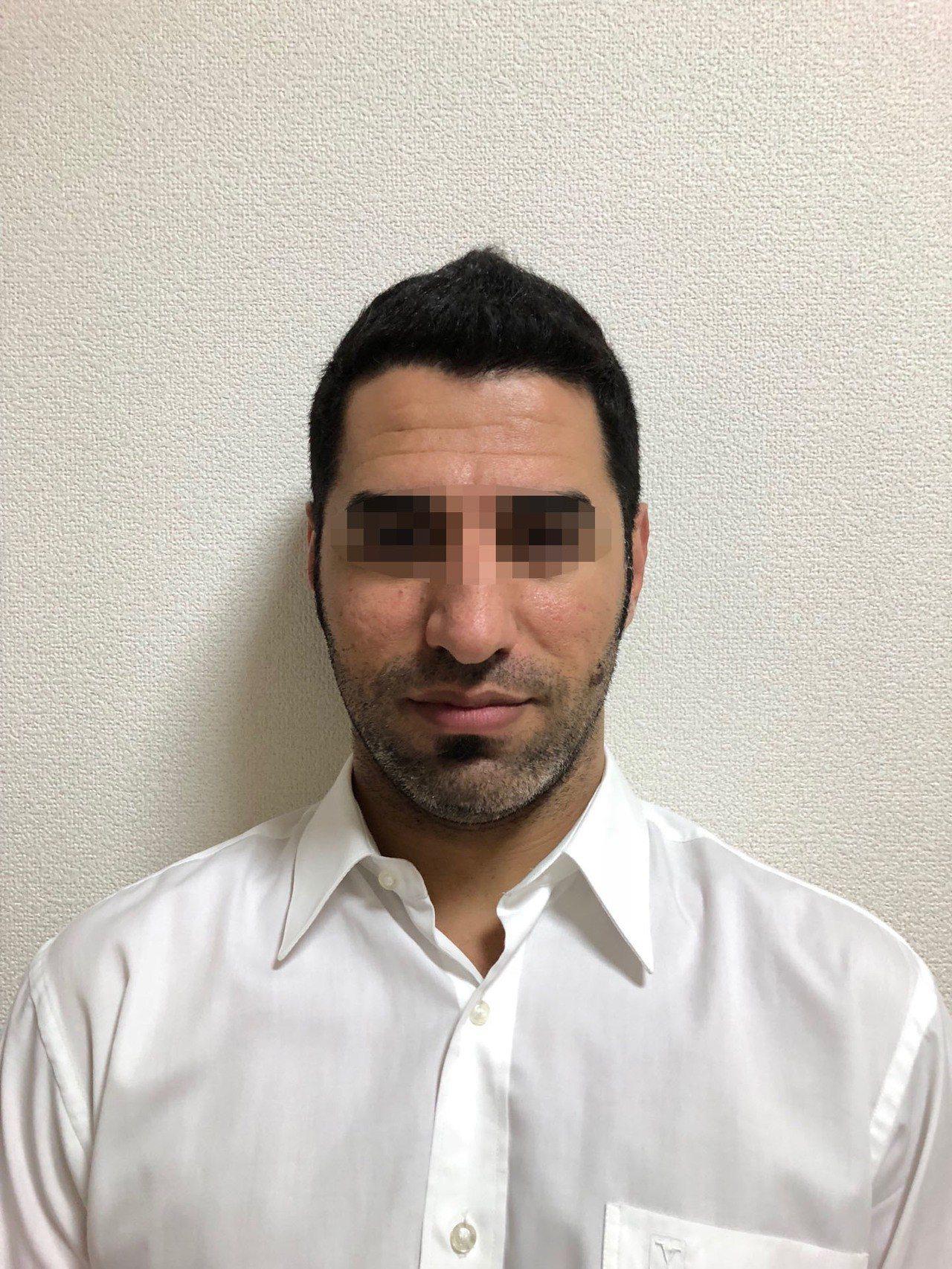 涉嫌殺害蕭姓老夫妻的伊拉克男子ALIHAMMAD JOMAAH。記者蔡翼謙/翻攝