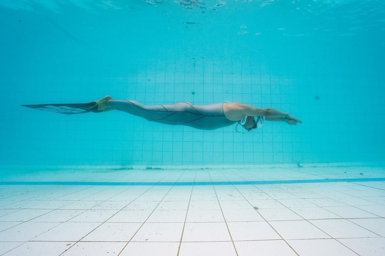第一屆環太平洋自由潛水泳池賽。圖/主辦單位提供