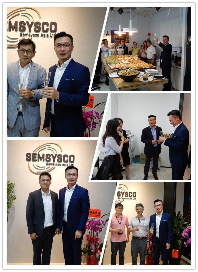 勝思科技(SEMSYSCO GmbH)新竹辦公室29日啟用,亞洲區董事總經理蘇泳...