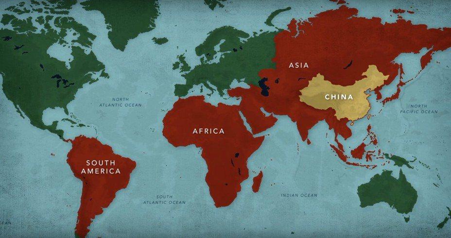 美國國務院網站ShareAmerica 1日推出影片呼籲,經濟發展不應該涉及不透明的掠奪性貸款,「切勿陷入中國的一帶一路債務陷阱」。 圖/擷取自Youtube頻道