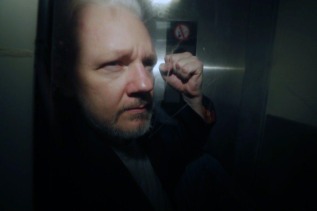 維基解密(WikiLeaks)創辦人亞桑傑(Julian Assange)。 美...