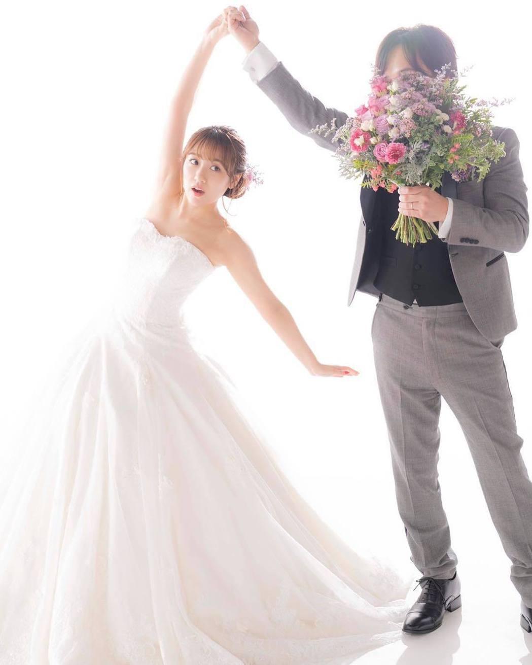 高橋南結婚了。圖/擷自IG