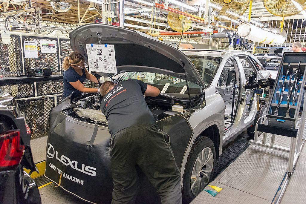 Lexus汽車日前確認會有新車加入北美產線,間接透露新車型的問世時間。 圖/Le...