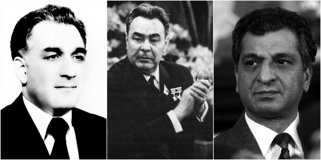 阿富汗局勢的變動,深深牽動著蘇聯。1979關鍵那年,阿富汗的親美領導人阿明(圖左...