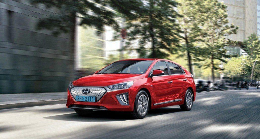 小改款Hyundai Ioniq Electric。 摘自Hyundai