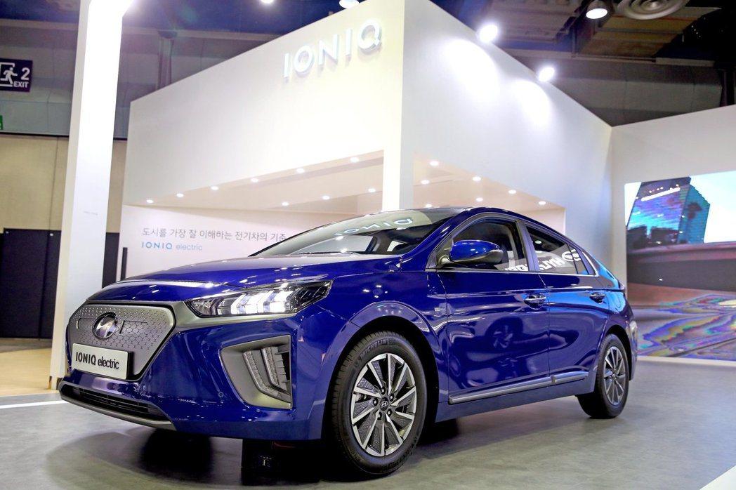 小改款Hyundai Ioniq Electric的最大馬力也提升至134hp。...