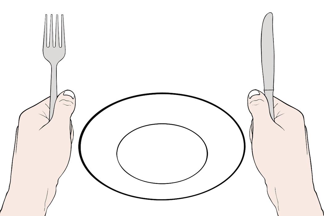 肚子餓時別做決定。 圖/ingimage