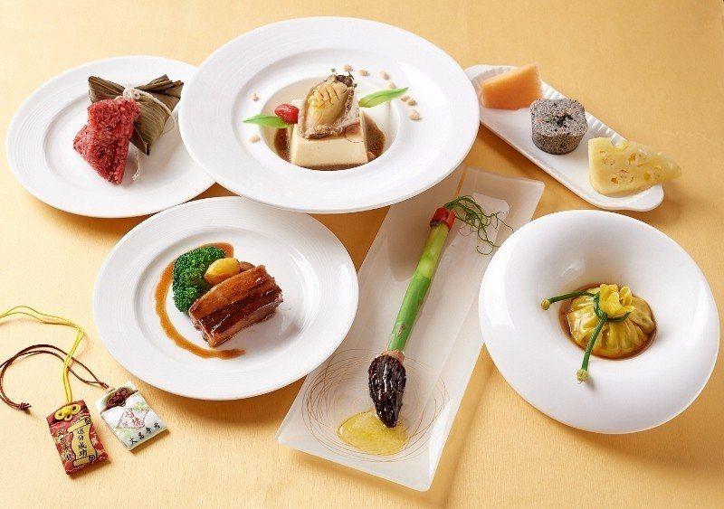 台北福華推出「及第狀元考生餐」,道道以正面寓意為考生加油,更貼心贈送祈福御守。 ...