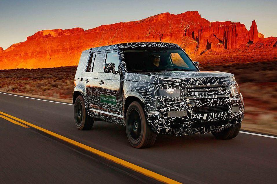 大改款Land Rover Defender無偽裝現身在007電影拍攝現場!