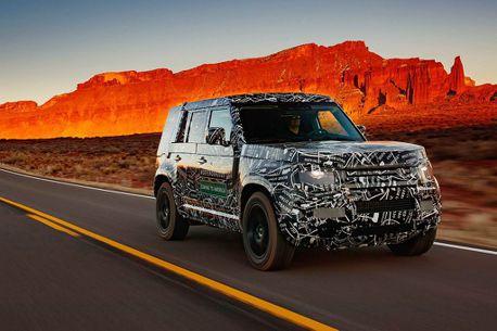 發表倒數!新世代Land Rover Defender行走120萬km終極試煉