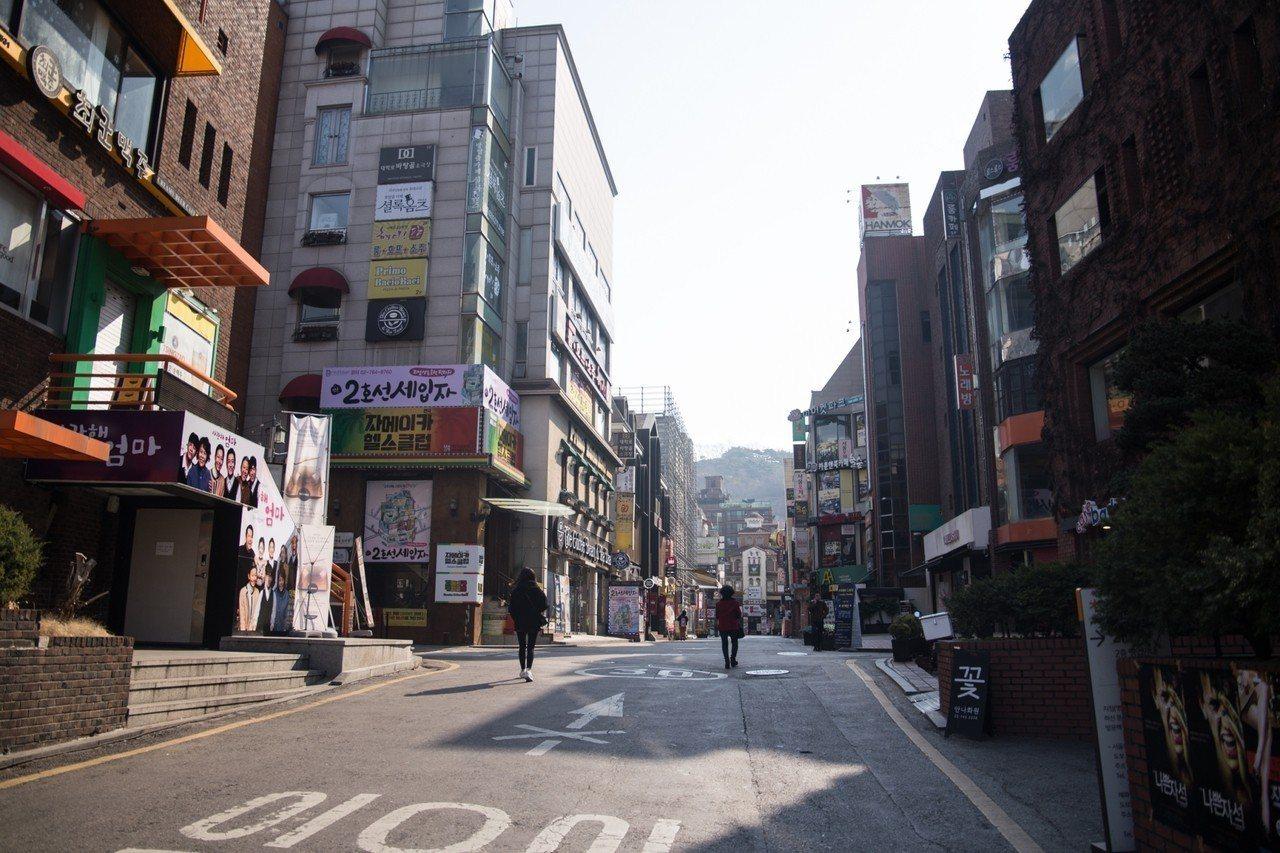 韓國表演藝術發展心臟區域-首爾大學路。 圖/聯合數位文創提供