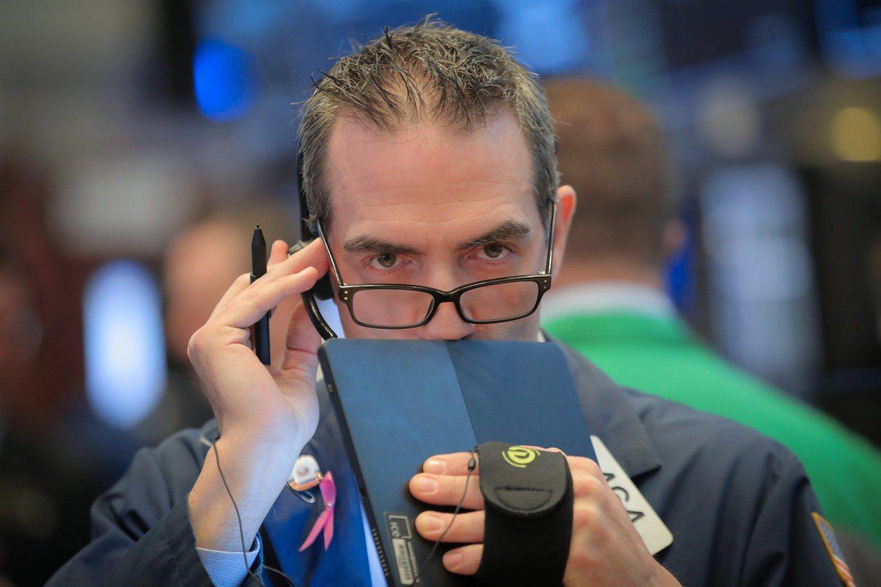 市場對升息的預期降低,美股周三下滑。 路透