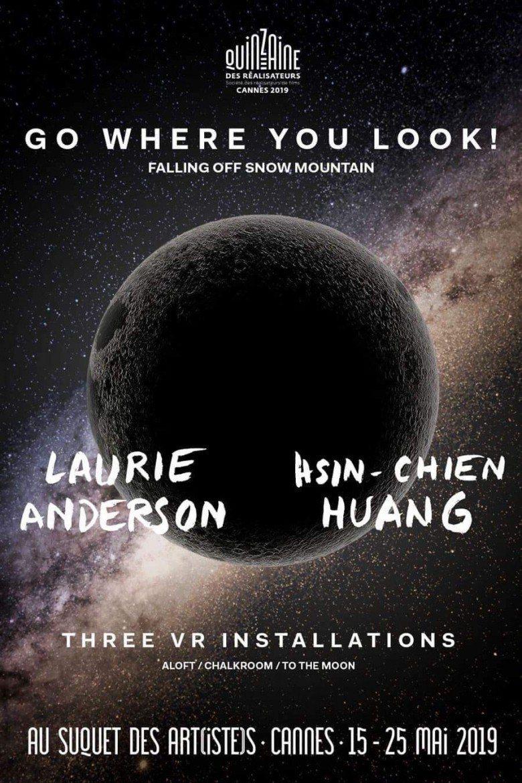 此次坎城影展導演雙週VR Exhibition海報。圖/國立台灣師範大學提供