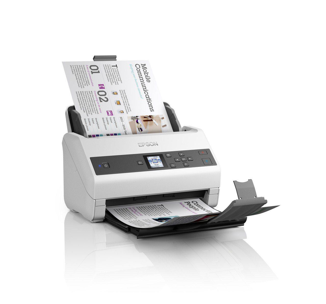 Epson全新高階商用文件饋紙式掃描器DS-870/DS-970,以「快速、泛用...