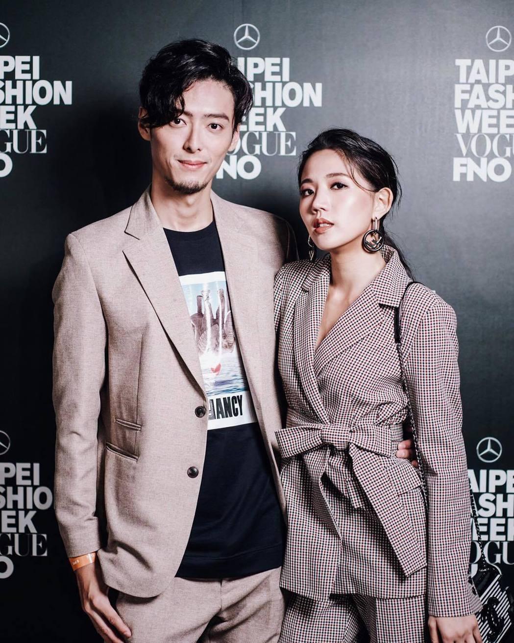 陳艾琳(左)跟Alex交往多時。圖/摘自IG