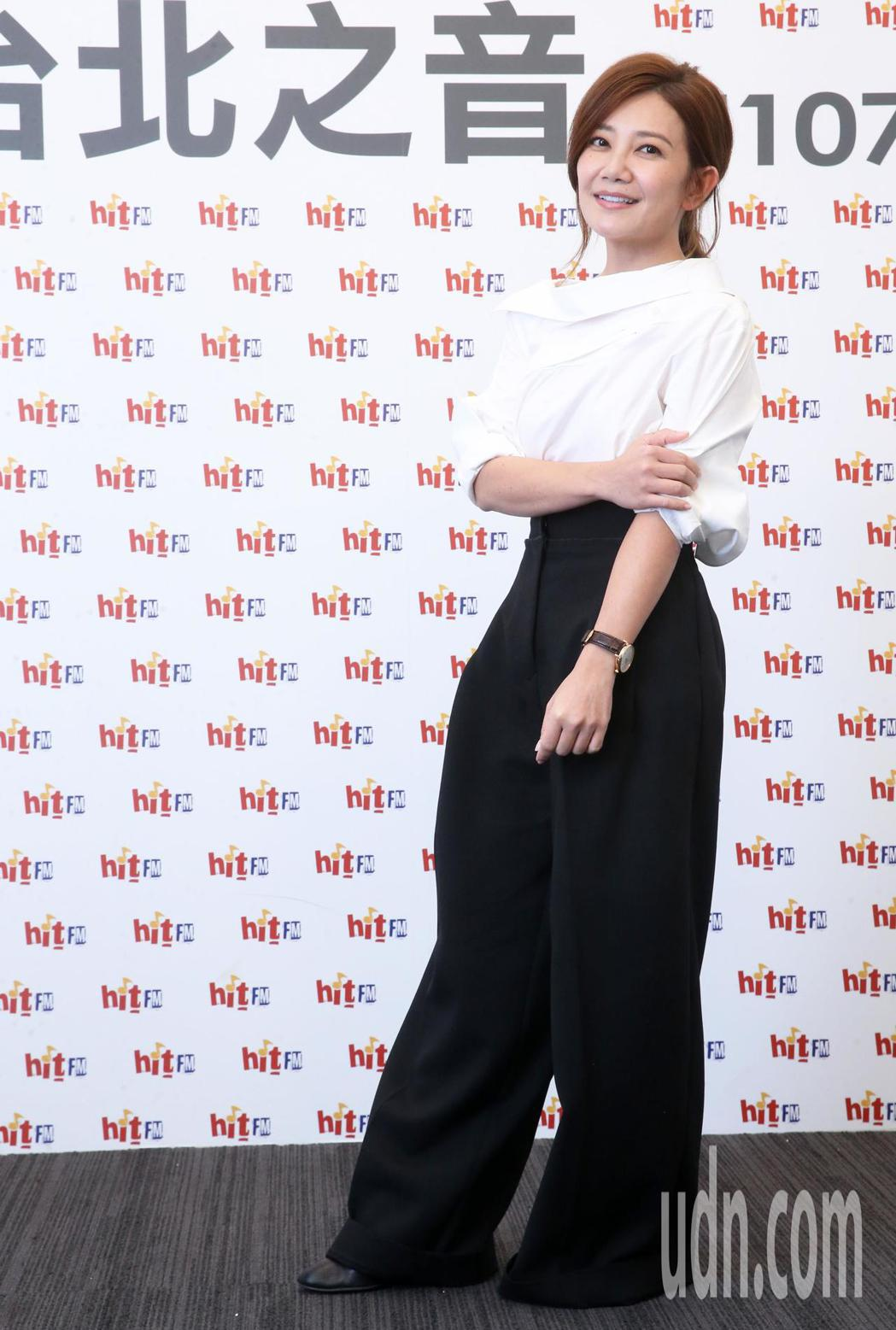 歌手梁靜茹今天出席Hit Fm聯播網,擔任hito五月大台柱。記者胡經周/攝影