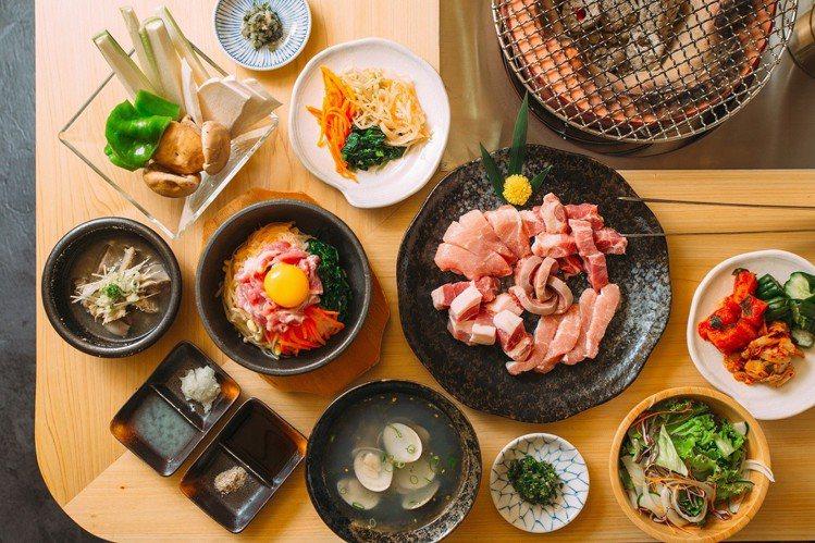 「炭火燒肉無敵Muteki」讓嗜肉者大呼過癮。圖╱亞洲萬里通提供