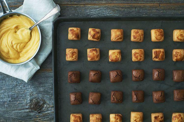 BAKERS CUSTARD卡士達蛋糕酥為首次受邀來台的晶華獨賣品牌之一。圖/台...