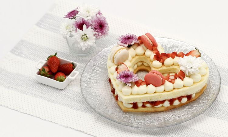 Joival Patissier的字母蛋糕是香港IG熱搜榜單No 1。圖/台北晶...