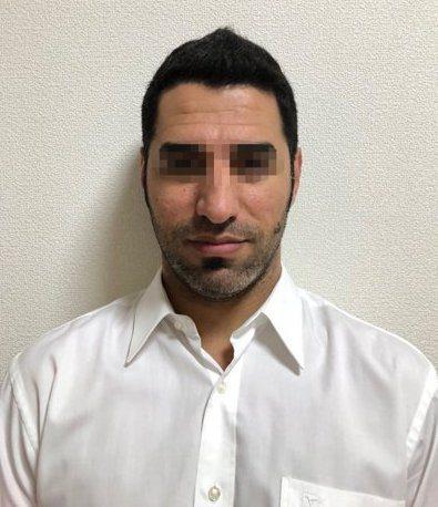 涉嫌殺害岳父母的伊拉克男子ALIHAMMAD JOMAAH。 記者蔡翼謙/翻攝