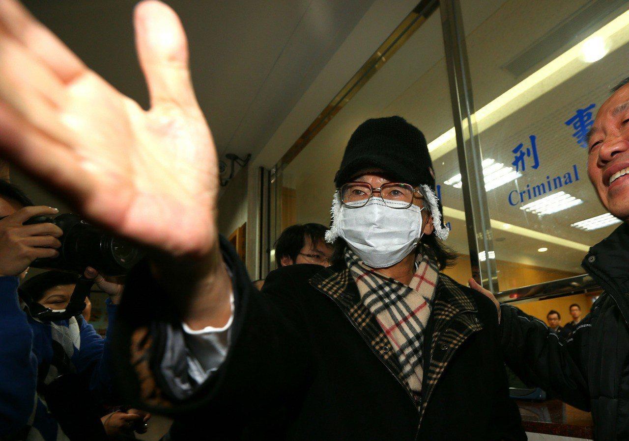 民進黨創黨元老張俊宏二度遭通緝。 聯合報系資料照/記者陳正興攝影