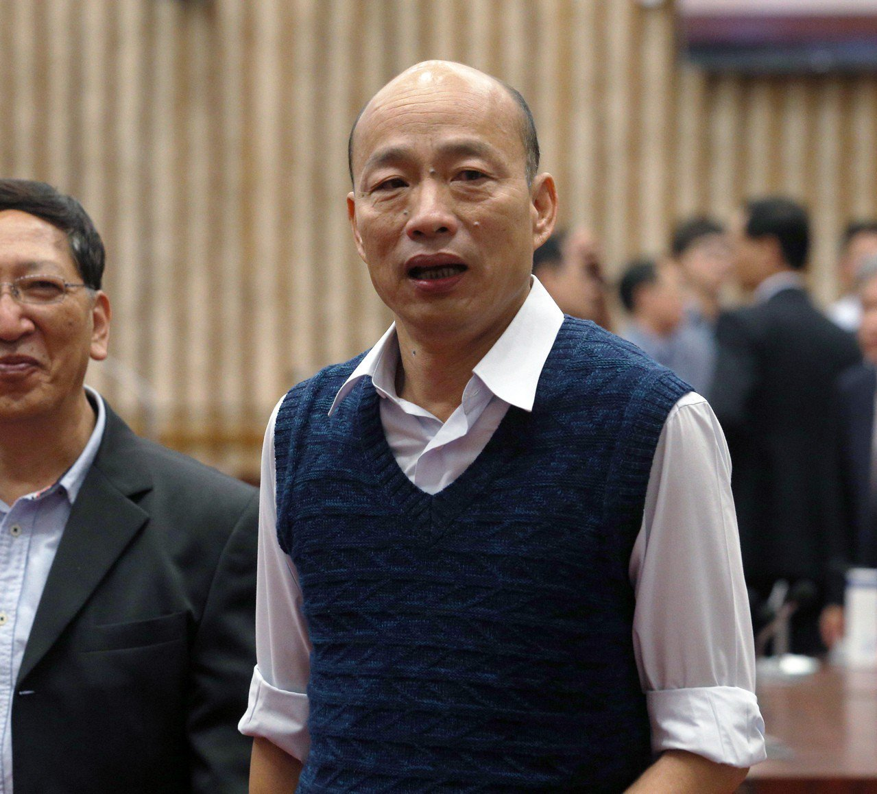 議員質疑韓國瑜簽的MOU以後不知是否能夠落實,對此高雄市農業局回應,目前已簽訂合...