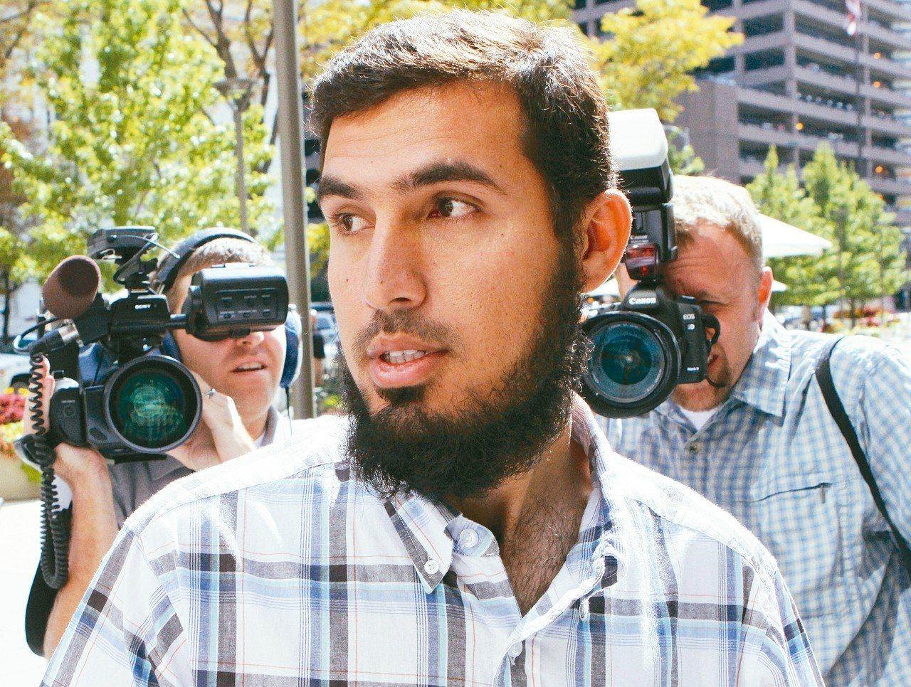 紐約地鐵攻擊嫌犯薩齊被判十年徒刑。 美聯社