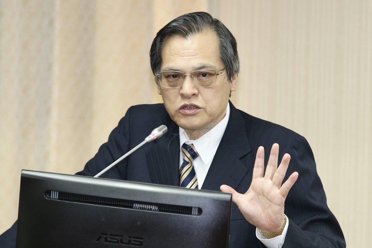陸委會主委陳明通。 聯合報系資料照/記者林伯東攝影