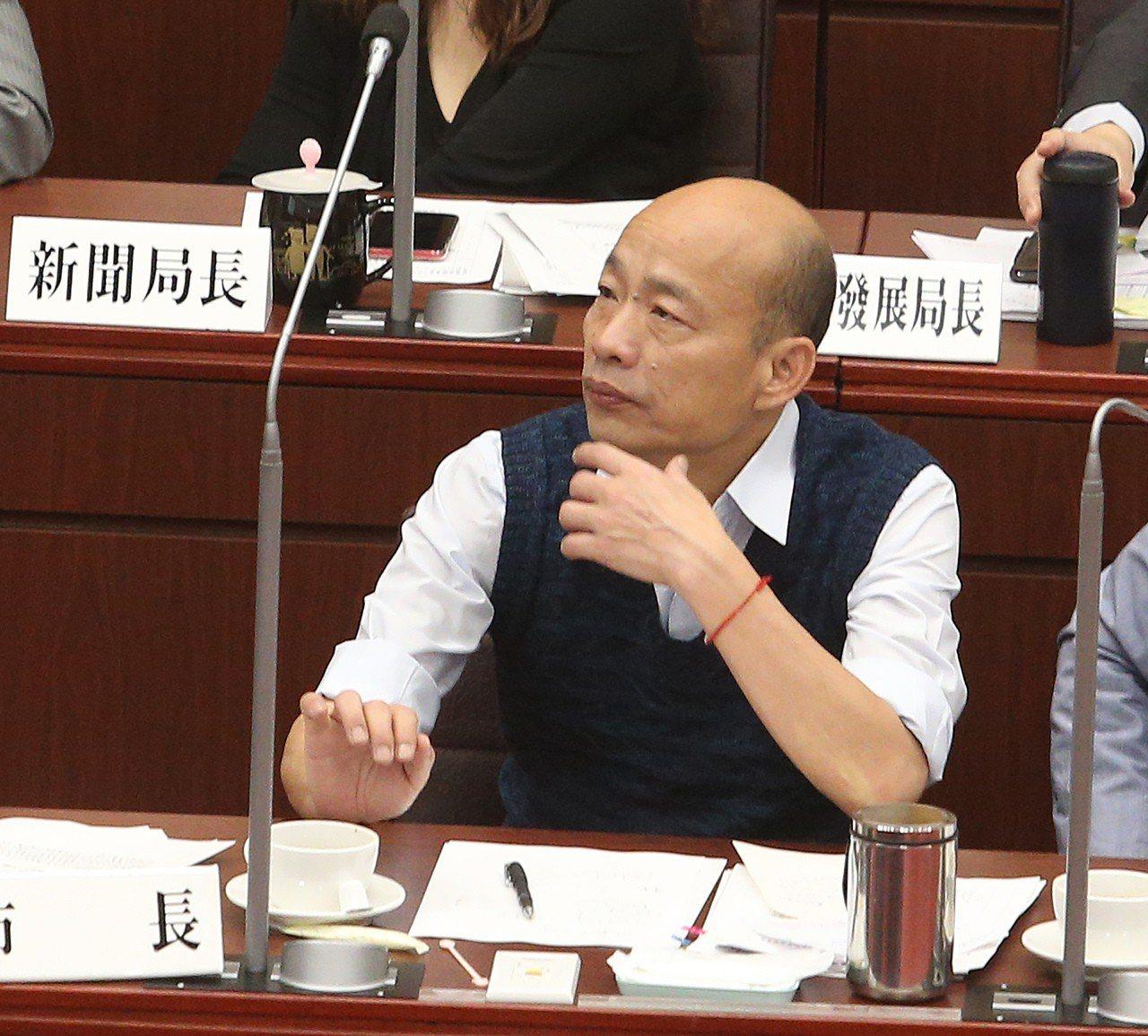 高雄市今年第一季車禍死亡64人,較去年同期增加逾2倍,韓國瑜今天議會答詢坦言「首...
