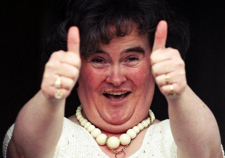 蘇格蘭歌手「蘇珊大嬸」蘇珊.波爾(Susan Boyle) 圖/路透社