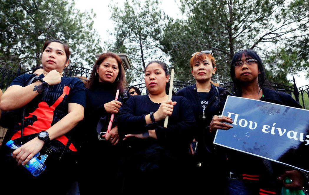 在首都尼柯西亞,為許多移工團體為被殺害的外籍移工悼念,同時抗議政府的勞動剝削。 ...