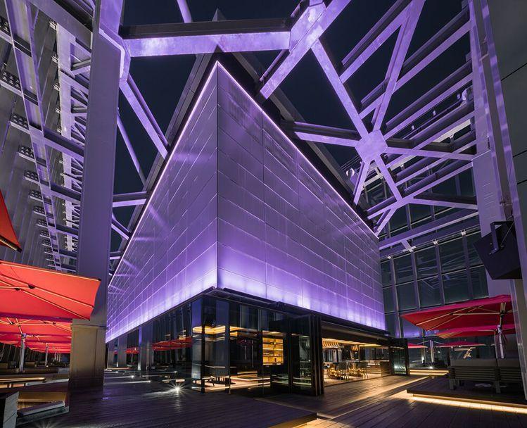 CÉ LA VI Taipei今年4月插旗微風南山星空塔48樓。圖/業者提供