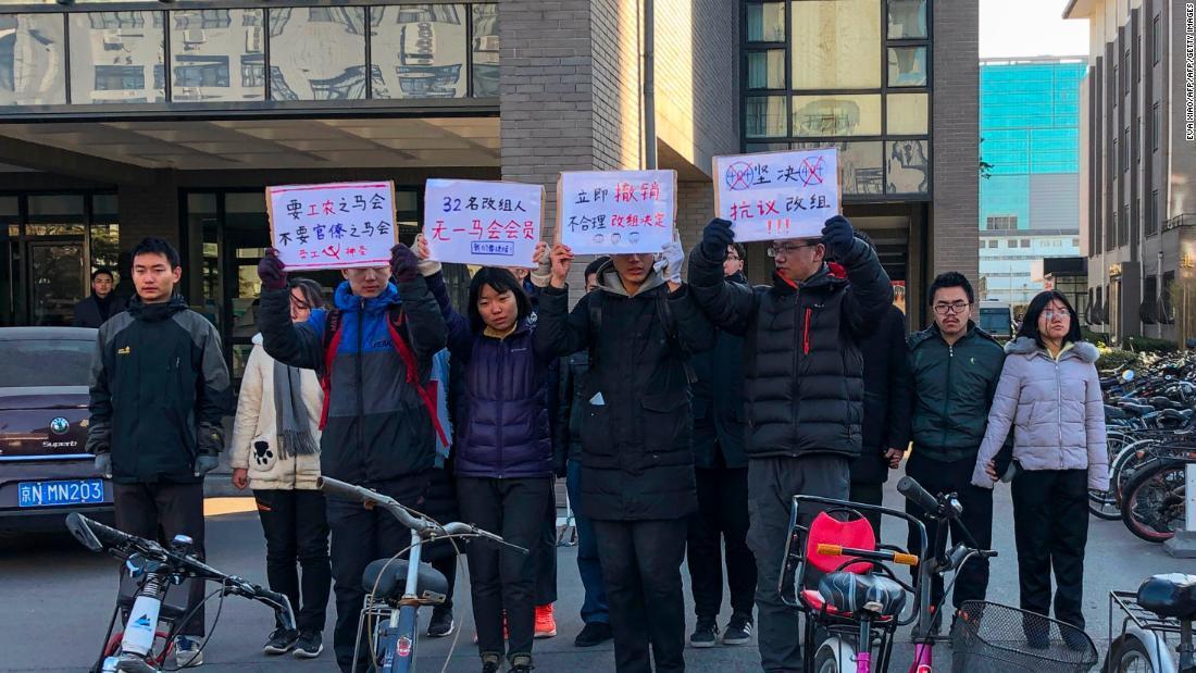 北大的馬克思主義學會學生,於4月29日傳出5名學生神秘失聯,根據「佳士工人聲援團...