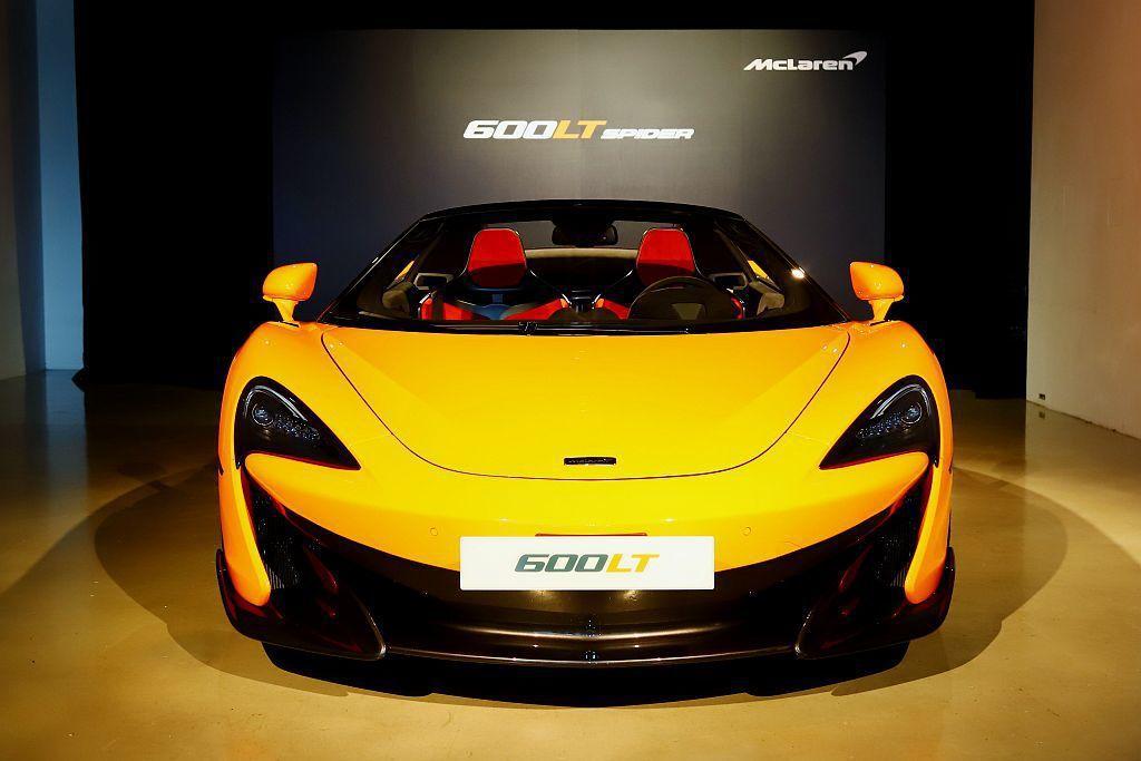 受限原廠產能使McLaren 600LT Spider數量將十分稀少,臺灣市場基...