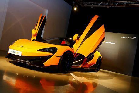 源自賽道,限時限量生產!McLaren 600LT Spider迅速登台亮相